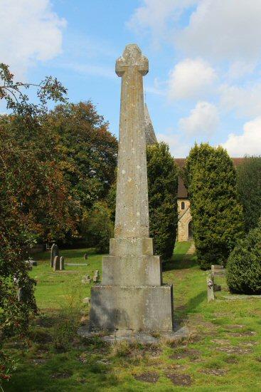 War Memorial, St. James Churchyard, Abinger Common