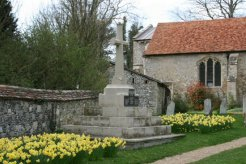 War Memorial, St. Mary and St. Melor Churchyard, Amesbury