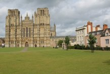 Wells Cathedral and Green, Wells