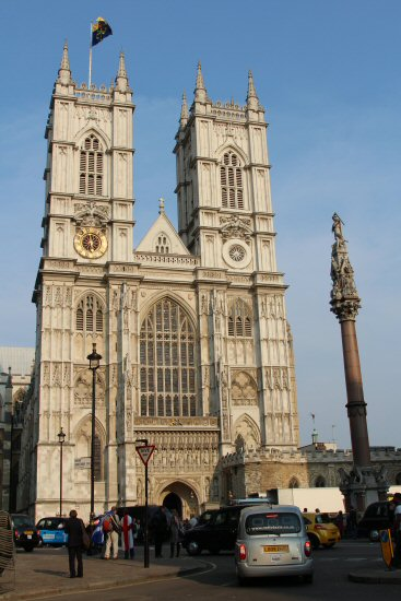 Westminster Abbey. Royal Wedding, Prince William and Kate, 29th April 2011