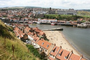 Whitby, from St. Mary's Churchyard