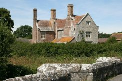 Woolbridge Manor, Wool. In Thomas Hardy's Tess of the d'Urbervilles, Tess spent her wedding night here.