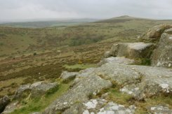 Yar Tor, from Sharp Tor, Dartmoor