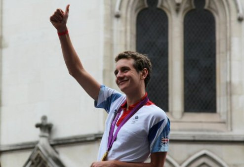 Alistair Brownlee, Men's Triathlon. Olympic and Paralympic Victory Parade 2012