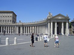 Bernini's Colonnade, St. Peter's Square, Vatican City, Rome