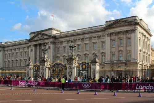 Buckingham Palace, Men's 20K Race Walk. London 2012 Olympic Games