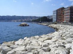 Caracciolo Promenade, Bay of Naples