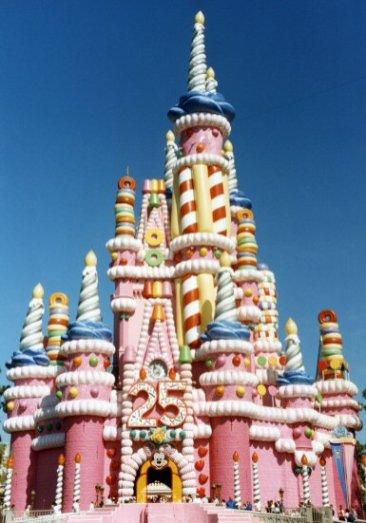 Cinderella Castle, Magic Kingdom, Disney World, Florida