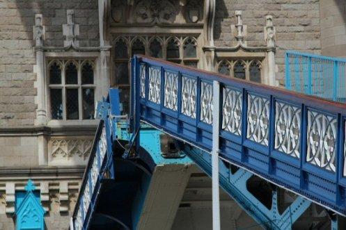 Closing leaves, Tower Bridge. London 2012 Olympic Games