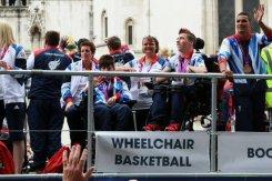 David Smith, Boccia. Olympic and Paralympic Victory Parade 2012