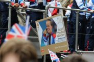 Ellie Simmonds, Swimming float. Olympic and Paralympic Victory Parade 2012