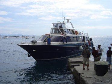 Ferry from Sorrento to Positano