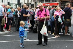 Games Maker. Olympic and Paralympic Victory Parade 2012
