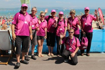 Games Makers. Weymouth and Portland Sailing, Olympic Games 2012