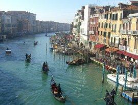 Grand Canal, from Rialto Bridge, Venice