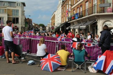 Hampton Court, Men's Olympic Road Cycling Road Race, 2012
