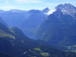 Lake Konigssee, from the Eagle's Nest