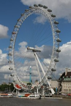 London Eye. Women's Olympic Marathon, 2012