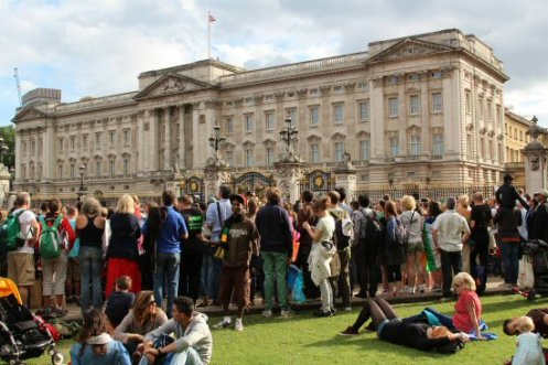 Men's 20K Race Walk, Buckingham Palace. London 2012 Olympic Games