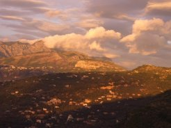 Lattari Mountains, above Sorrento