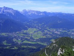 Obersalzberg, from the Eagle's Nest