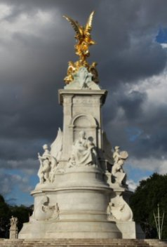 Queen Victoria Memorial, Buckingham Palace. London 2012 Olympic Games