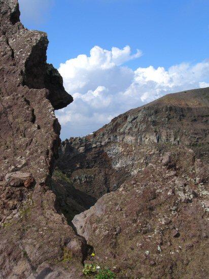 Rim of the Crater, Mount Vesuvius
