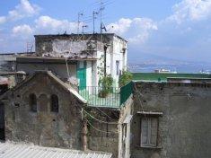 Roof Garden, from Corso Vittorio Emanuelle, Naples