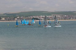 Sailing, Weymouth Bay. Weymouth and Portland Sailing, Olympic Games 2012