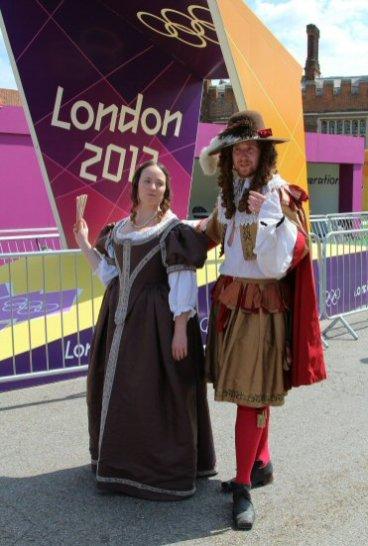 Salacious gossip tours, Hampton Court Palace, Men's Olympic Road Cycling Road Race, 2012
