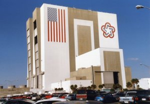 Shuttle Assembly Building, Kennedy Space Centre, Cape Canaveral, Florida (second largest building in the world)