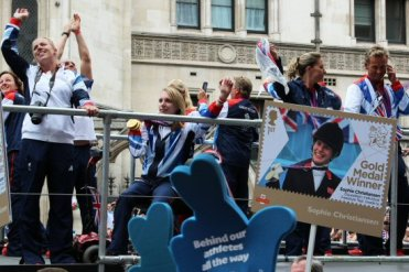Sophie Christiansen, Equestrian. Olympic and Paralympic Victory Parade 2012