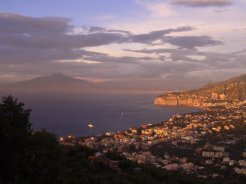Sorrento and the Bay of Naples, to Vesuvius