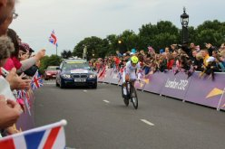 Tatiana Guderzo, Italy, Hampton Court. Olympic Road Cycling Time Trials, 2012