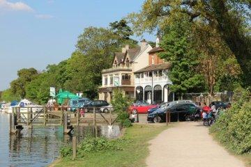 The Anglers, River Thames, Walton-on-Thames