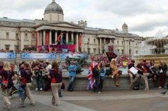 Trafalgar Square. Olympic and Paralympic Victory Parade 2012