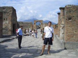 Via Del Foro, Pompeii