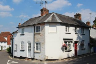 Cottages, corner of Church Street, Odiham