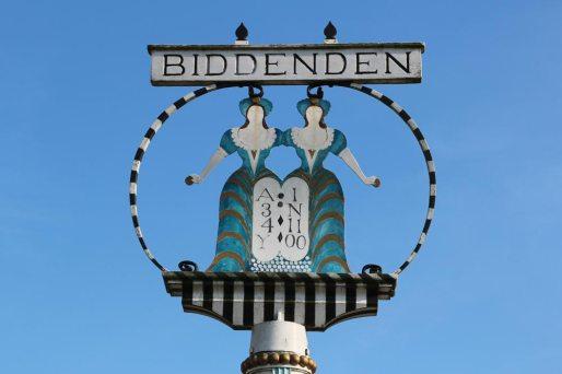 The Biddenden Maids Village Sign, Biddenden