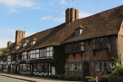 Ye Maydes Restaurant and Woolpack House, Biddenden