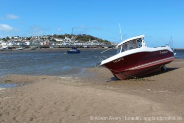 Boat, Instow Beach, Instow