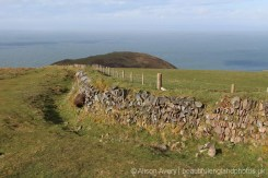 Dry stone wall, Foreland Point, Countisbury