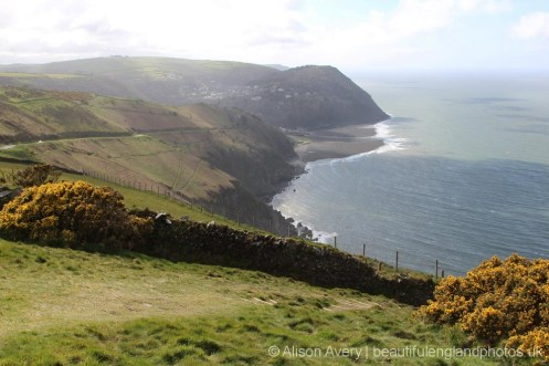 Lynton and Lynmouth, from Countisbury