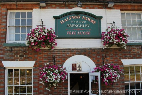 Entrance, Halfway House pub, Brenchley