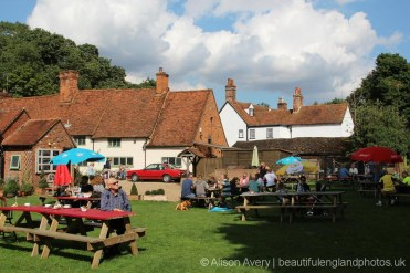 Garden, The Brocket Arms, Ayot St. Lawrence