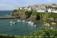 Harbour, from Roscarrock Hill, Port Isaac