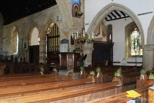 Interior, St. Margaret's Church, Horsmonden