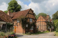Sleepy Cottage and Church Cottage, Turville (Vicar of Dibley village)