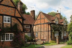 Sleepy Cottage, Old Beams Cottage and Church Cottage, Turville (Vicar of Dibley village)