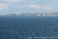 The Island, Tintagel, from Lobber Point, Port Isaac